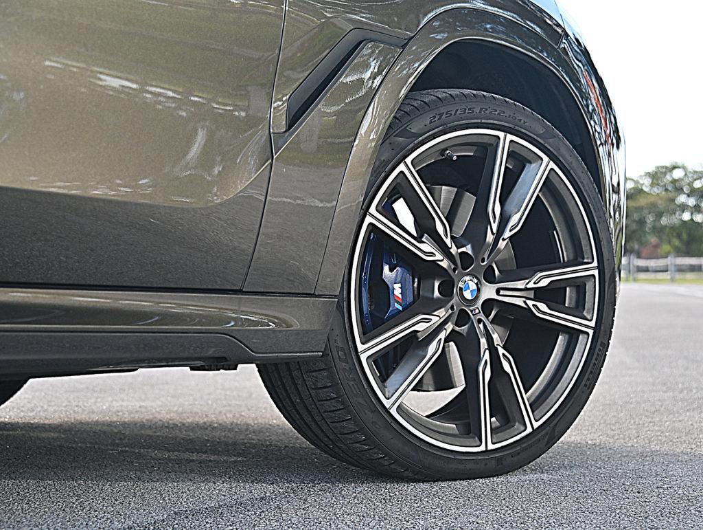 BMW front wheels