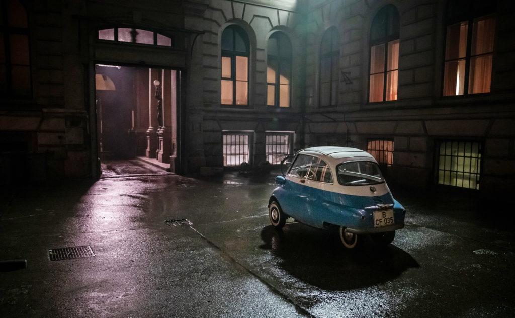 Isetta after dark