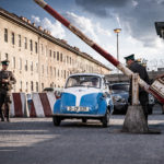 BMW Isetta Berlin Wall