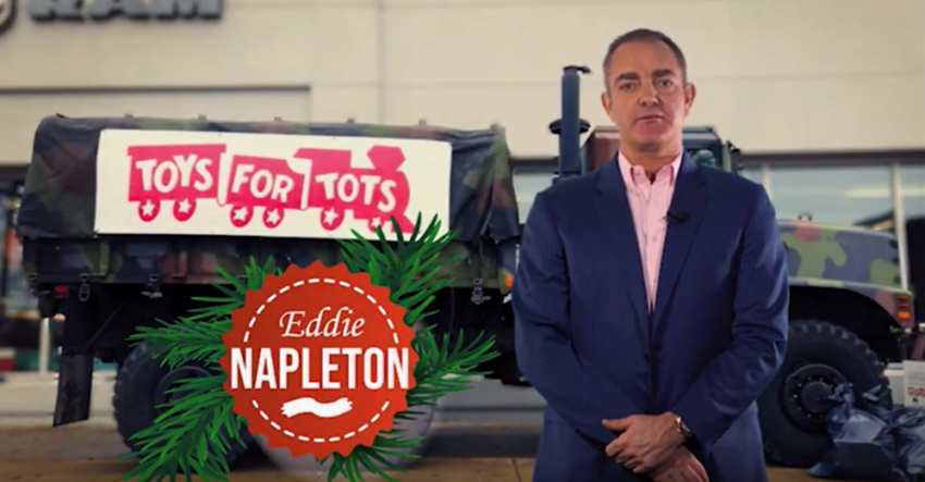 Eddie Napleton News Update