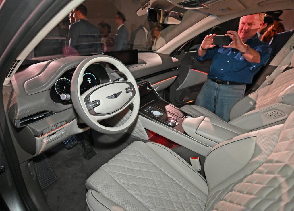 Genesis SUV Interior