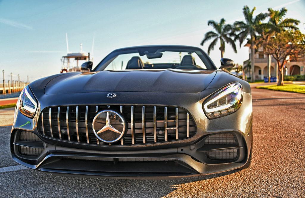 Mercedes-AMG Head on