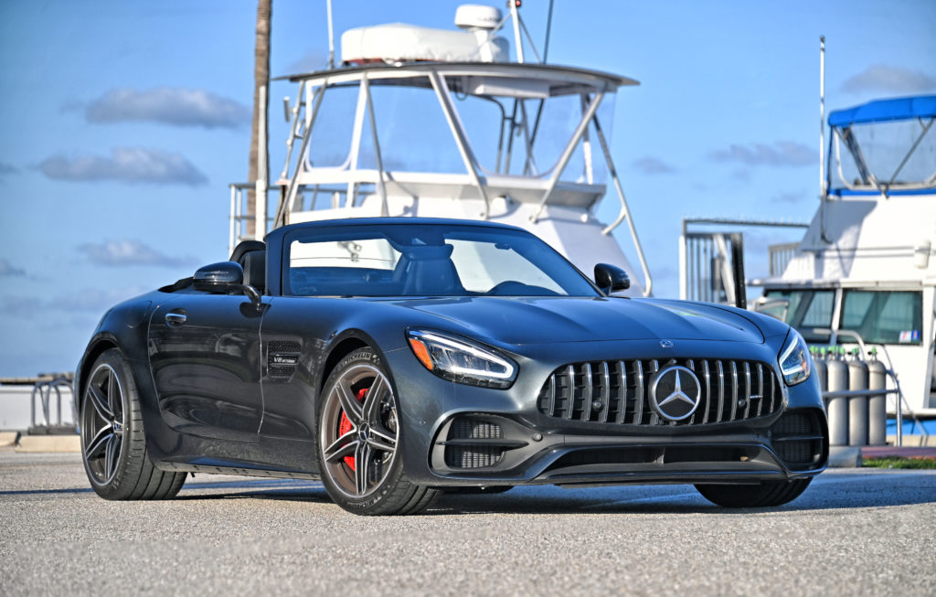 AMG GT C right front