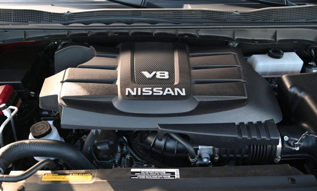 Head on V8