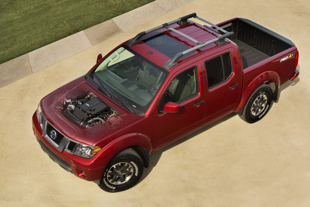new engine Nissan frontier