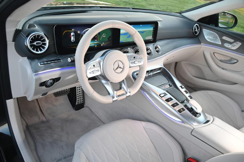 Mercedez AMG GT Interior