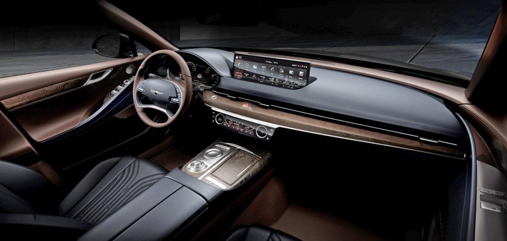 New 2021 G80 Interior