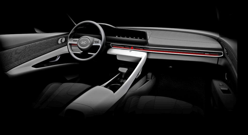 Hyundai Elantra inside