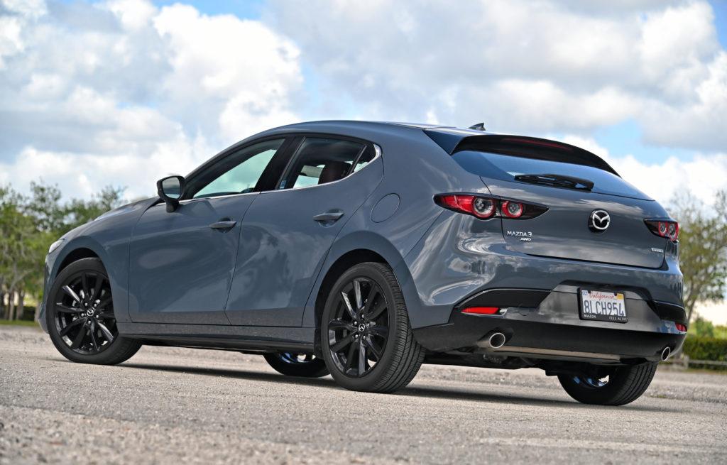 Mazda rear
