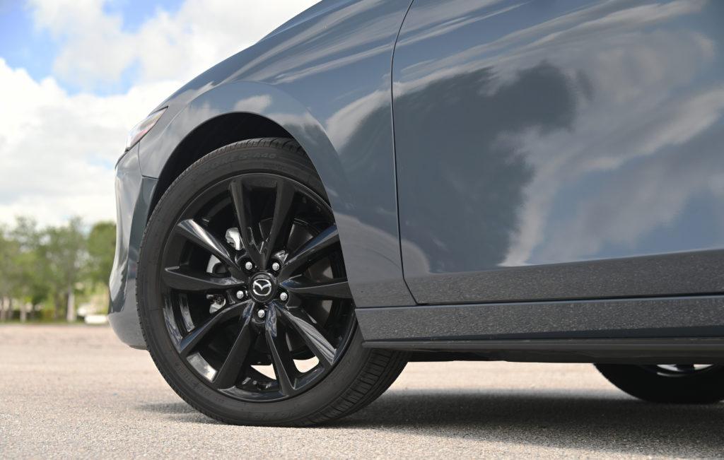 Mazda front wheel
