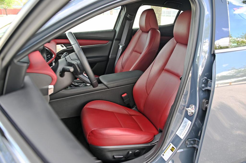 Mazda3 inside