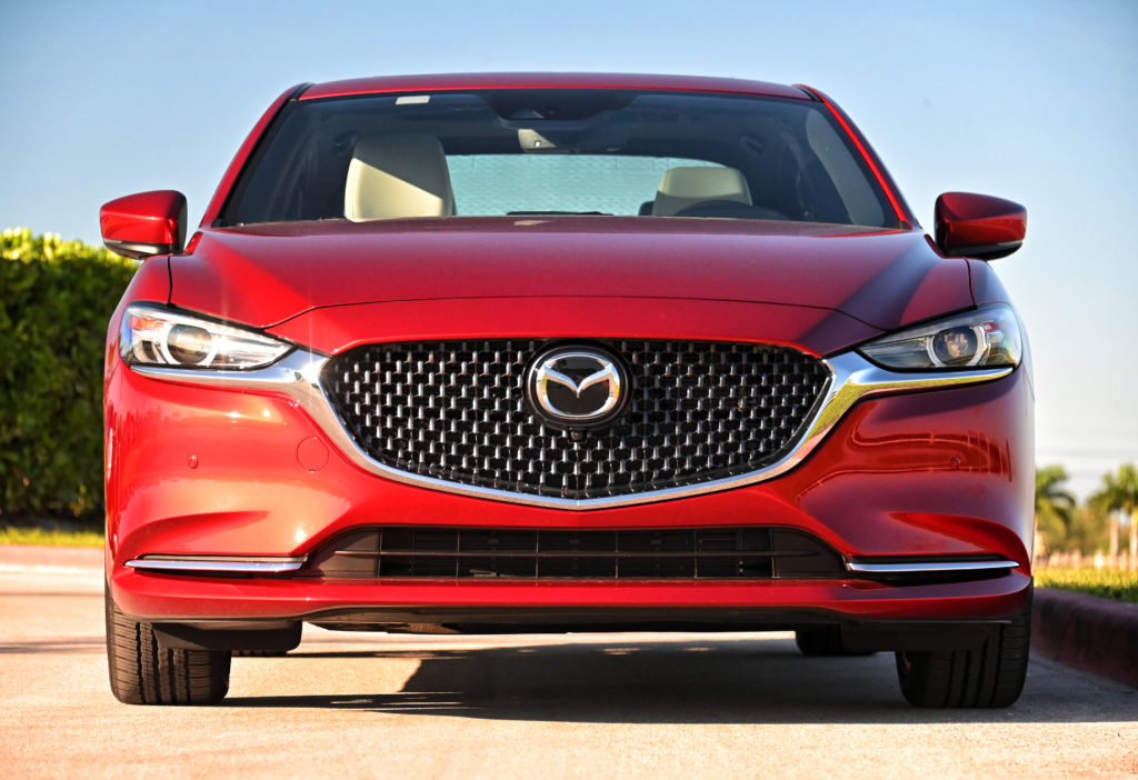 Mazda6 head-on