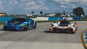 2 Acura Pro Drivers Swap Cars At The Race Track