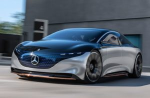 New Mercedes EQS EV Offers 300 Miles Of Range