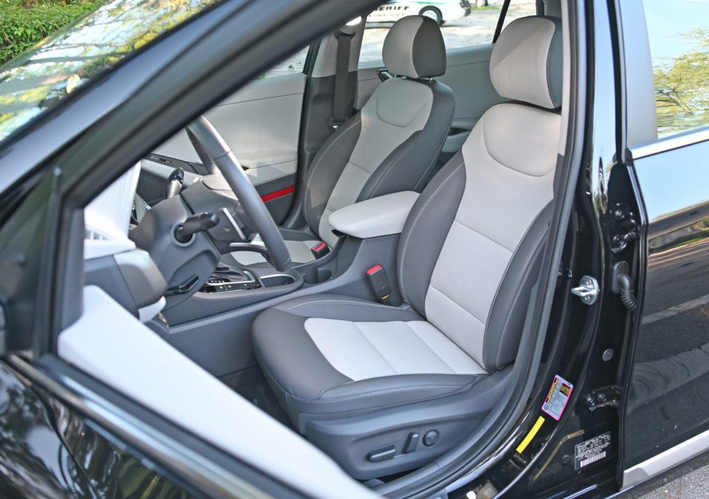 ioniq front seat