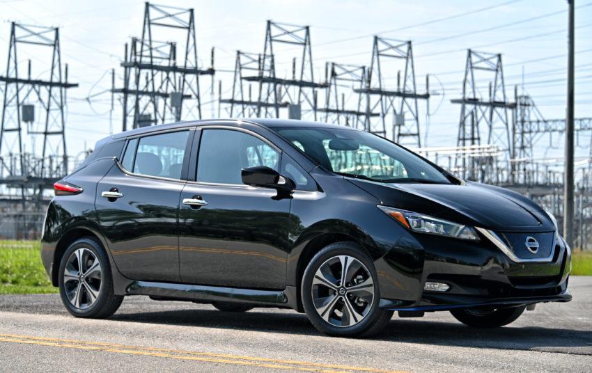 Nissan Leaf SV wires