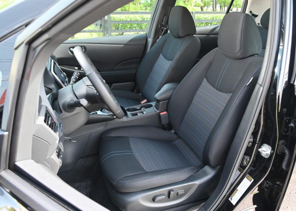 Nissan Leaf seats