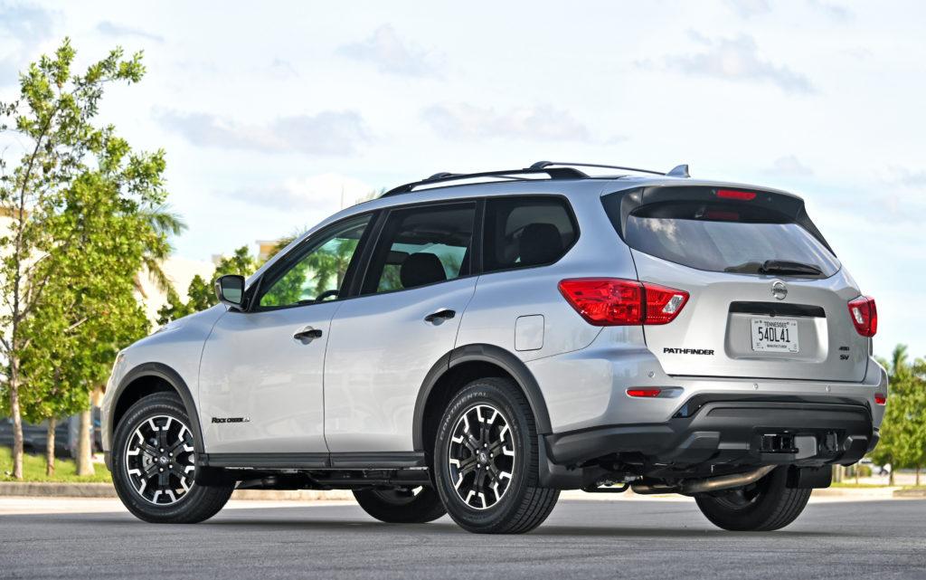 Pathfinder rear