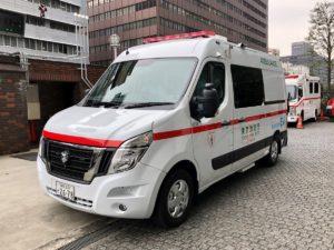 Nissan NV400 Ambulance Joins Tokyo's Zero Emission Initiative