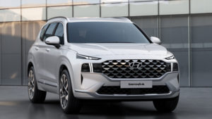 NEW HYUNDAI SANTA FE SUV REVEALED