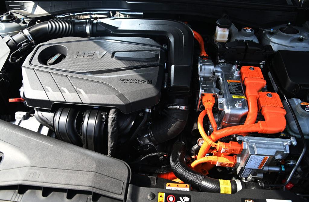 sonata hybrid engine
