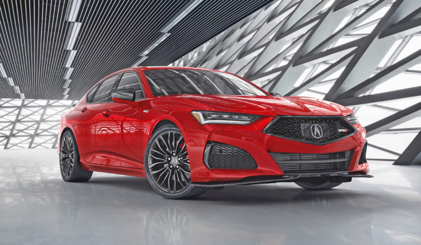 acura tlx red