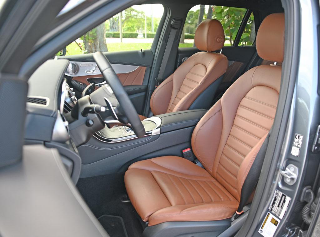 Mercedes AMG GLC 43 interior