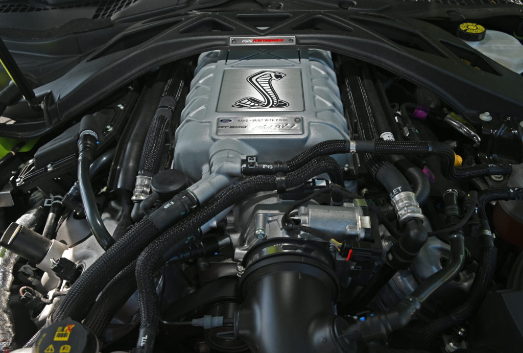 Mustang GT500 engine