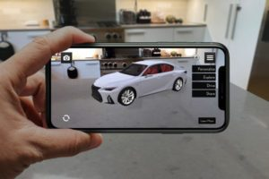 Lexus' New AR App Launches With The 2021 IS
