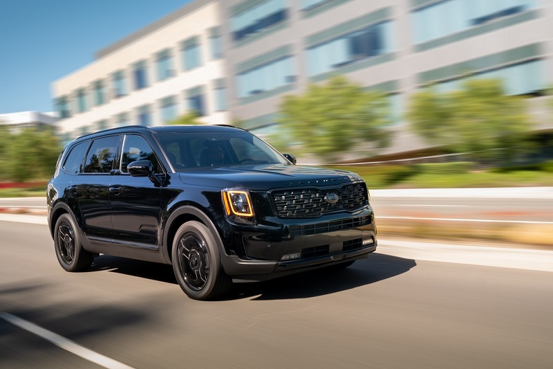 2021 Kia Telluride Nightfall Edition Arrives This Summer