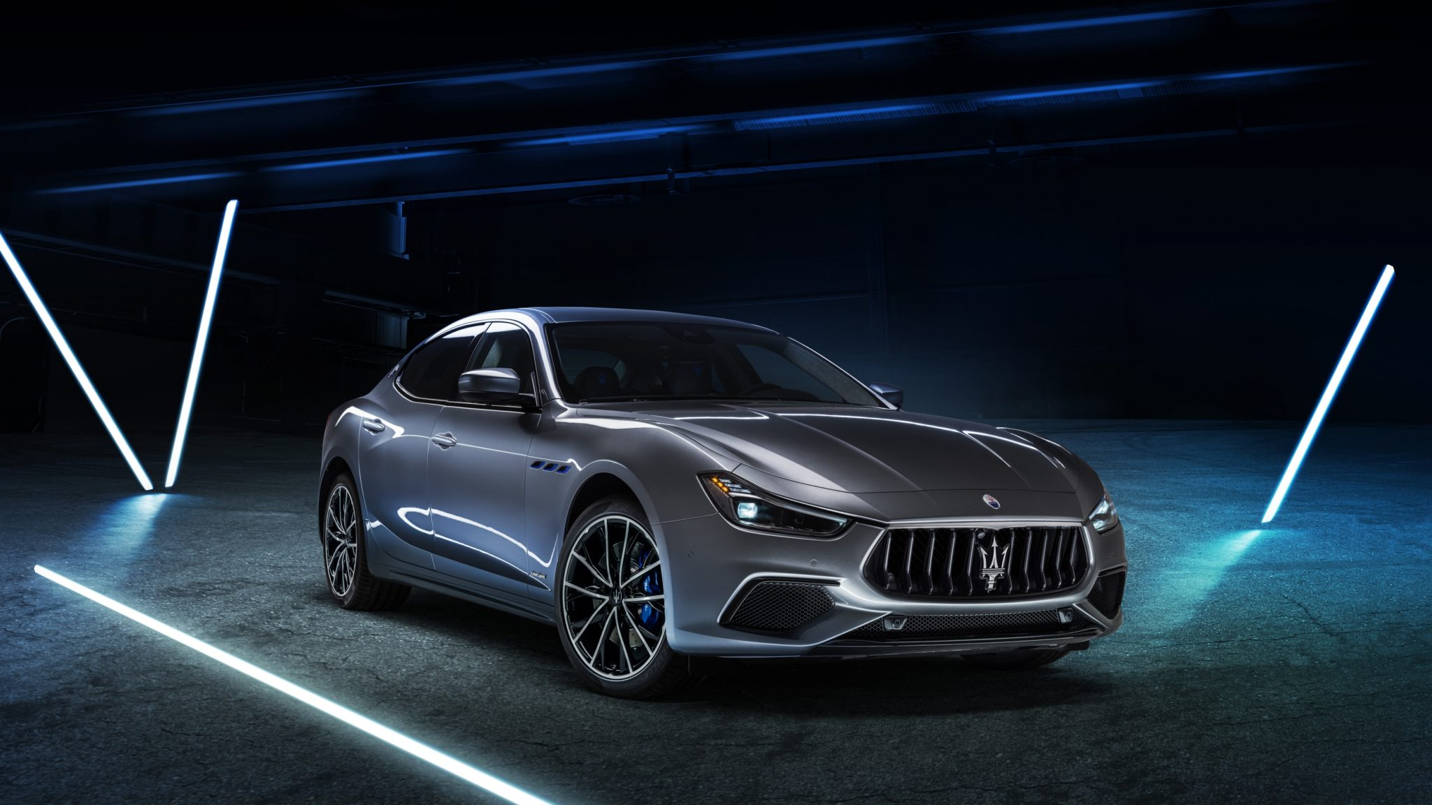 Meet The Ghibli Hybrid, Maserati's First Model To Include An Electric Motor