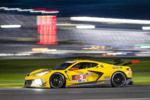 TEAM CHEVROLET CORVETTE C8.R  DIGS DAYTONA, WINS 100th