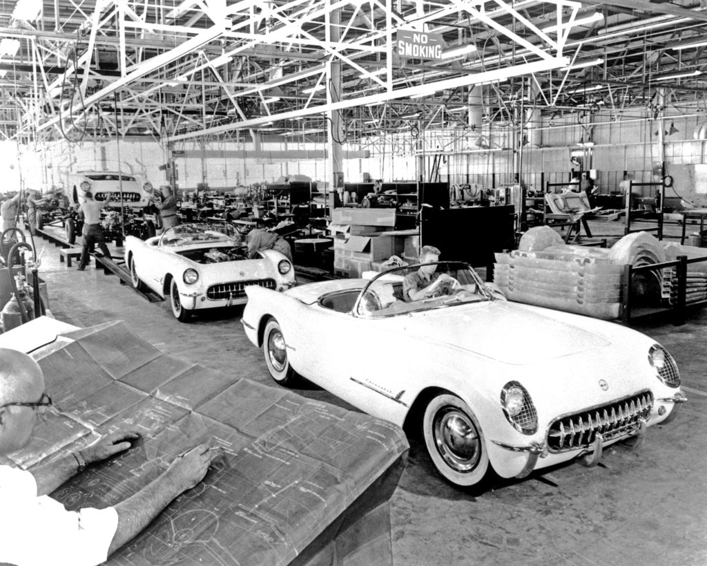 Chevrolet Corvette Assembly