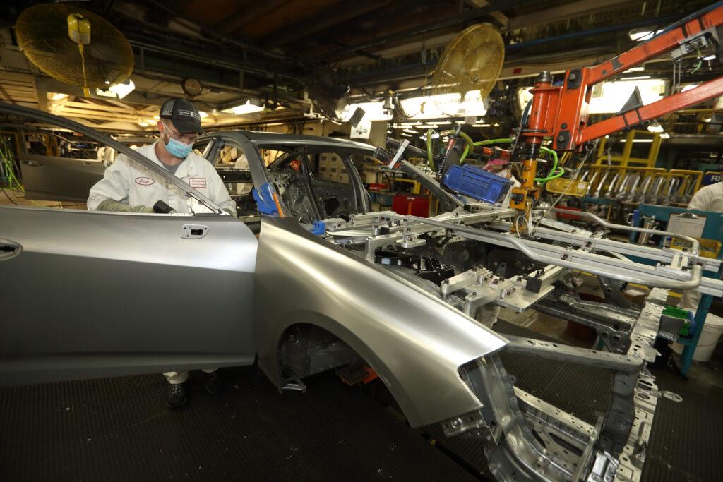 Acura TLX bare metal