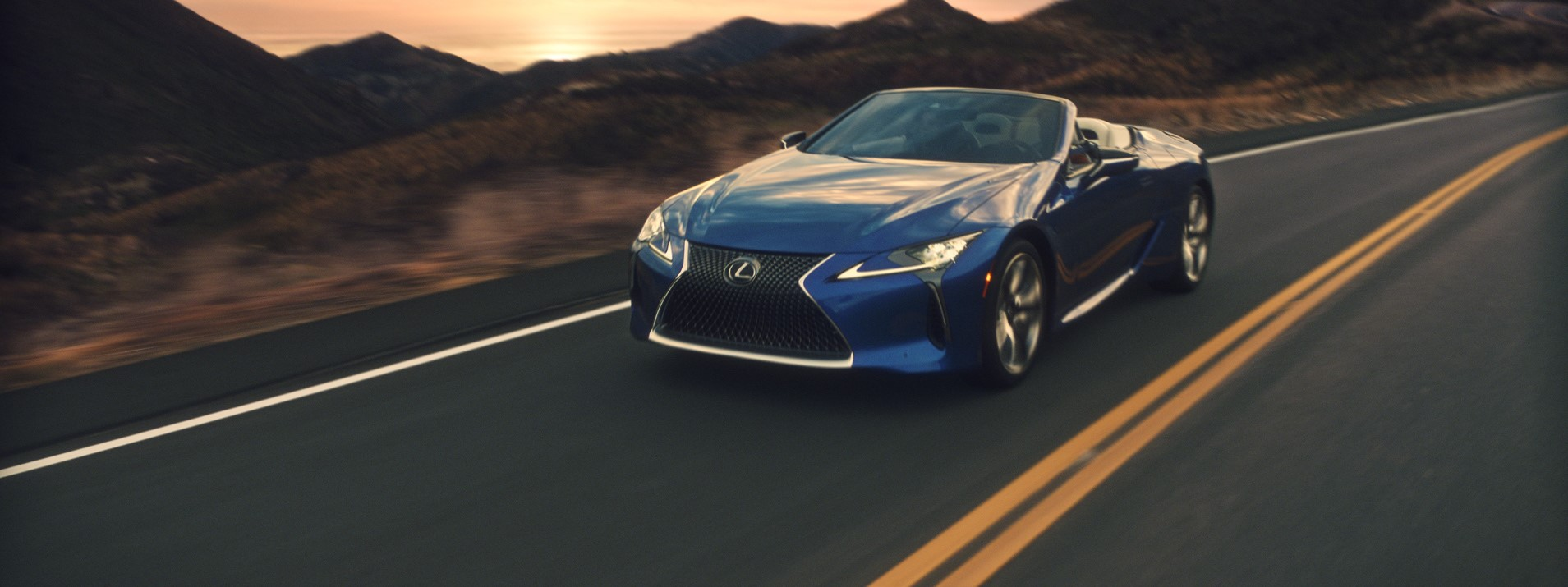 Meet The First-Ever Lexus LC 500 Convertible
