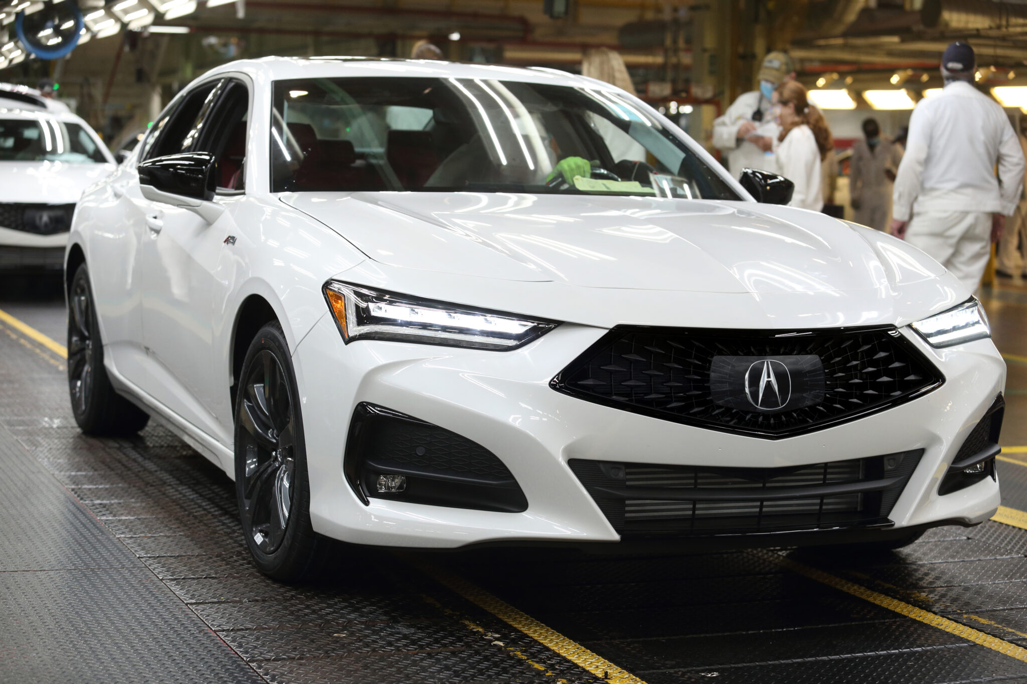 ALL-NEW ACURA TLX BEGINS PRODUCTION