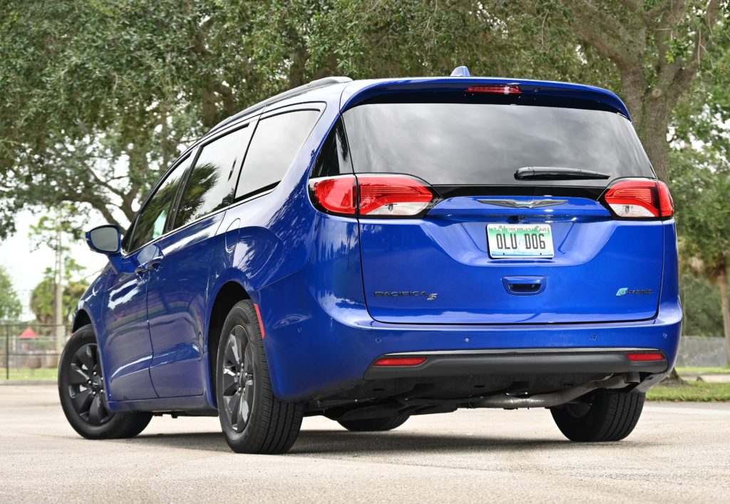 Rear view Pacifica Hybrid