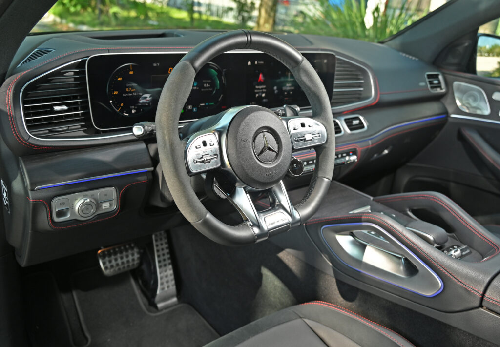 AMG GLE interior