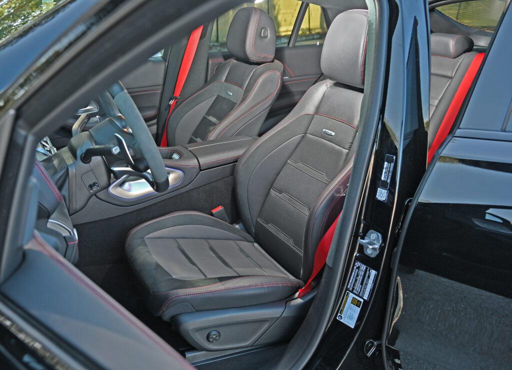 front seat AMG GLE
