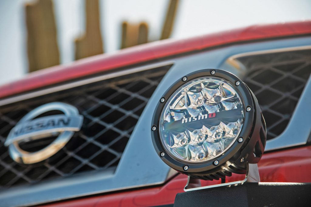 Rally lights on Nissan Frontier