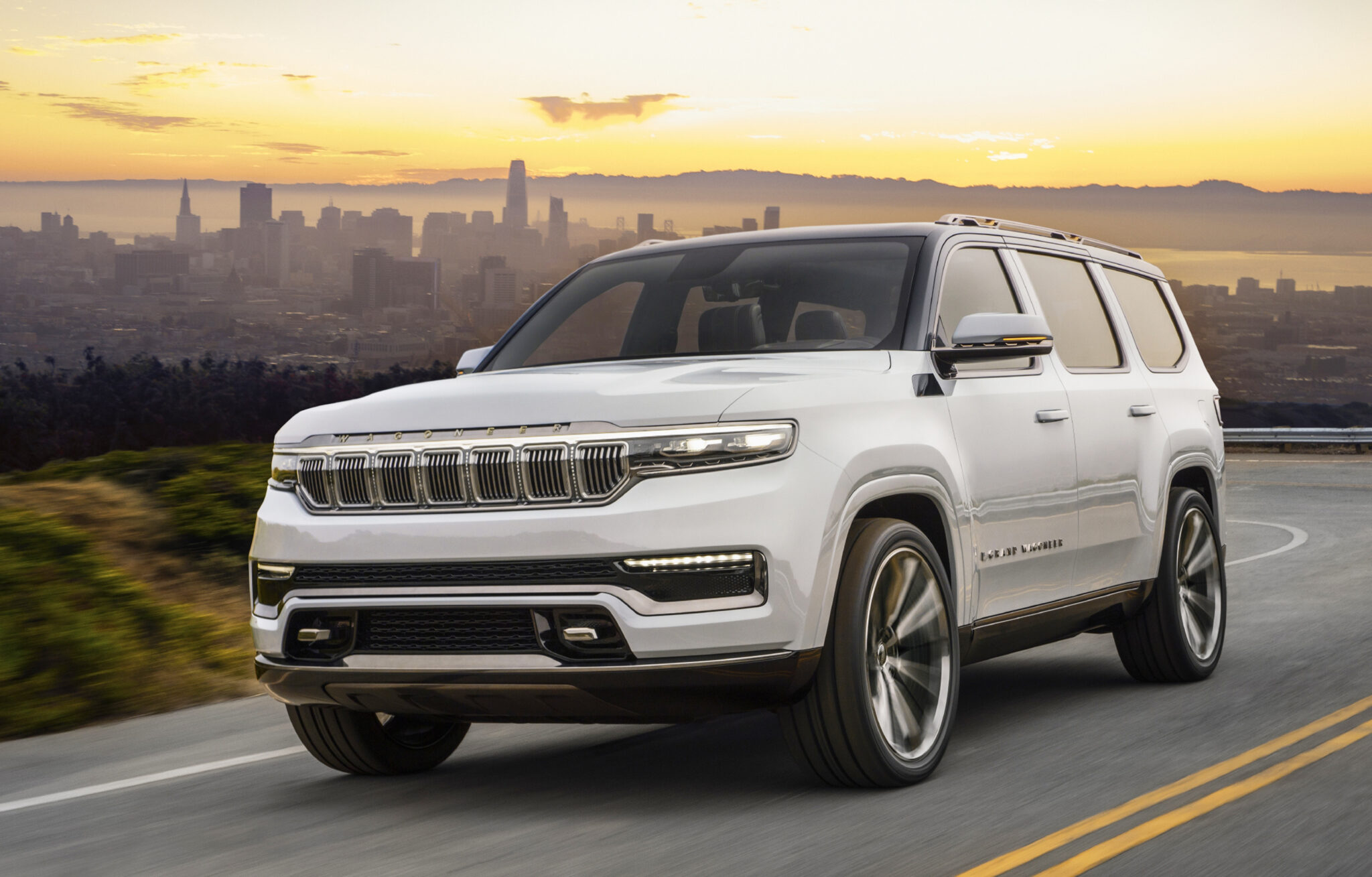 JEEP GRAND WAGONEER CONCEPT GIVES A GLIMPSE OF THE FUTURE