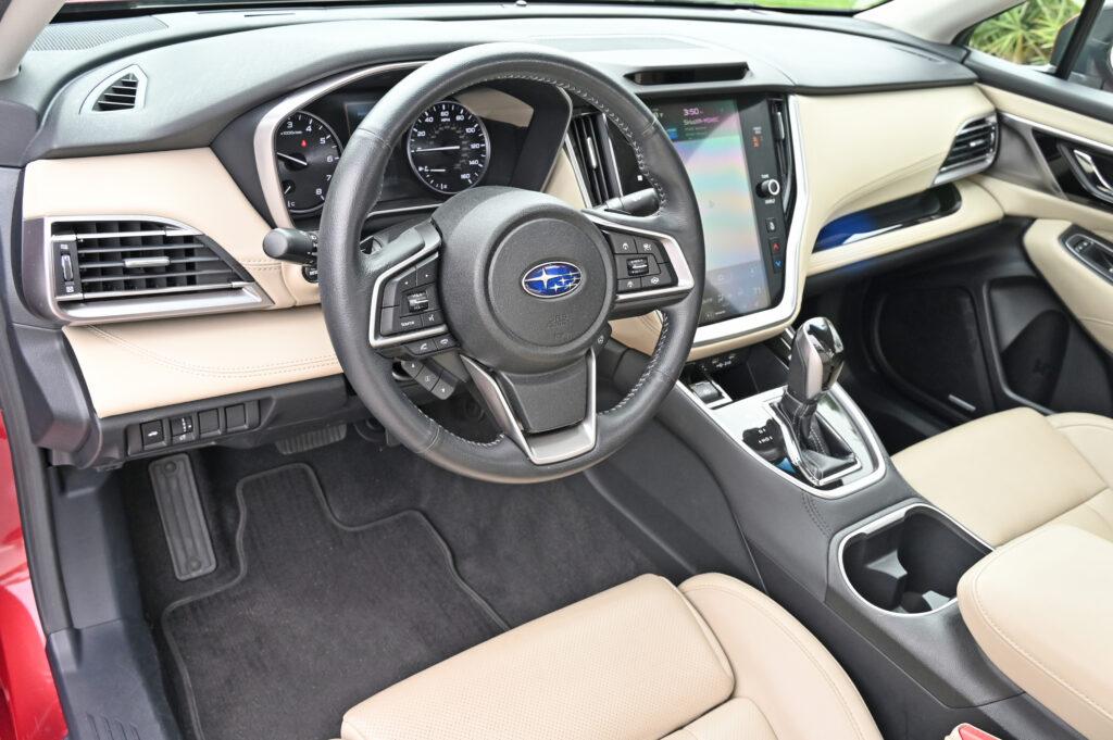 Subaru Legacy XT Interior
