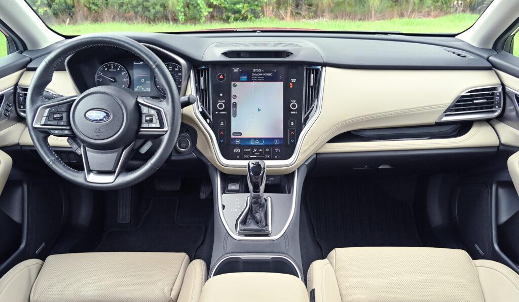 Subaru dashboard