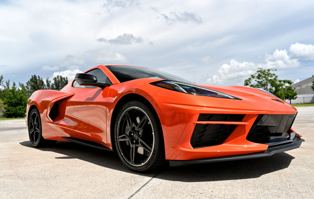 Corvette Low Front