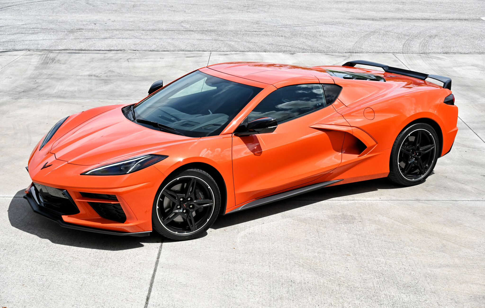 THE NEW 2020 CORVETTE STINGRAY MID-ENGINE COUPE
