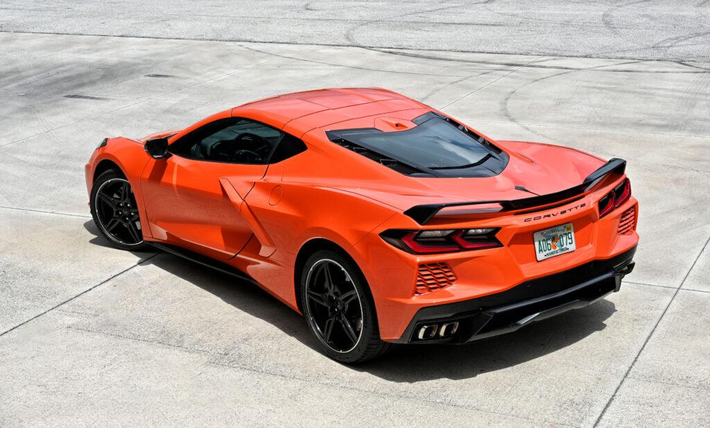 Corvette Stingray rear view