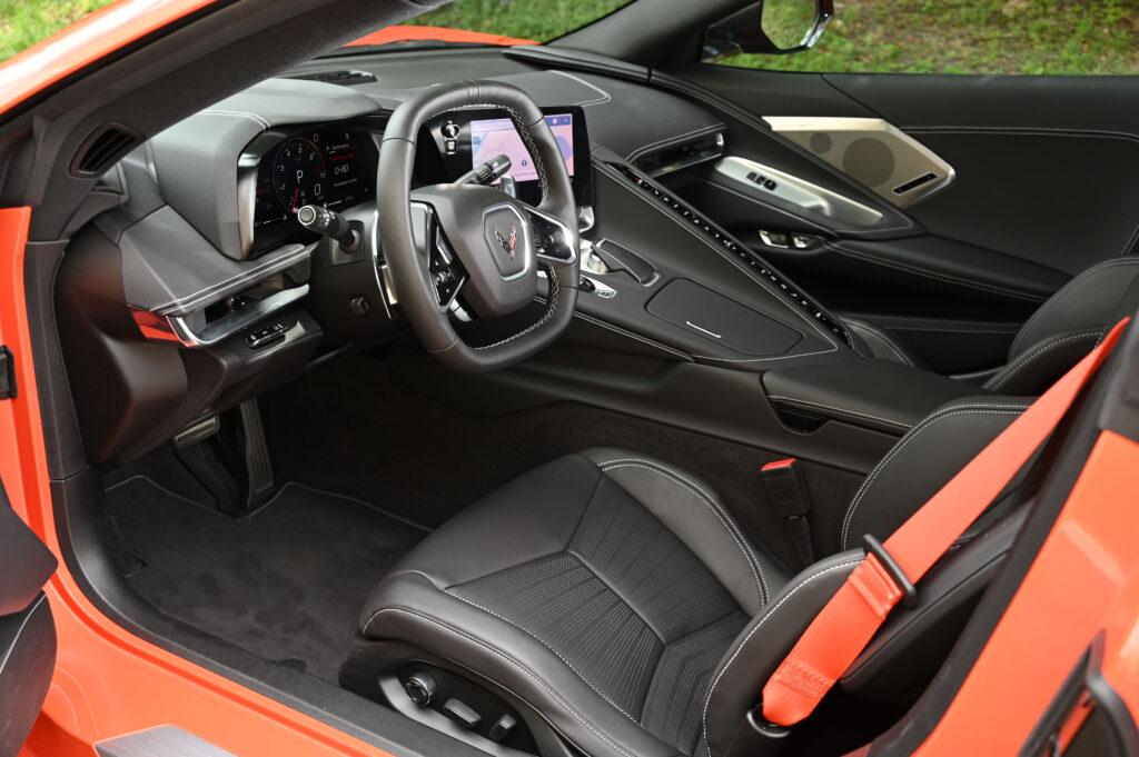 New Corvette Stingray Interior