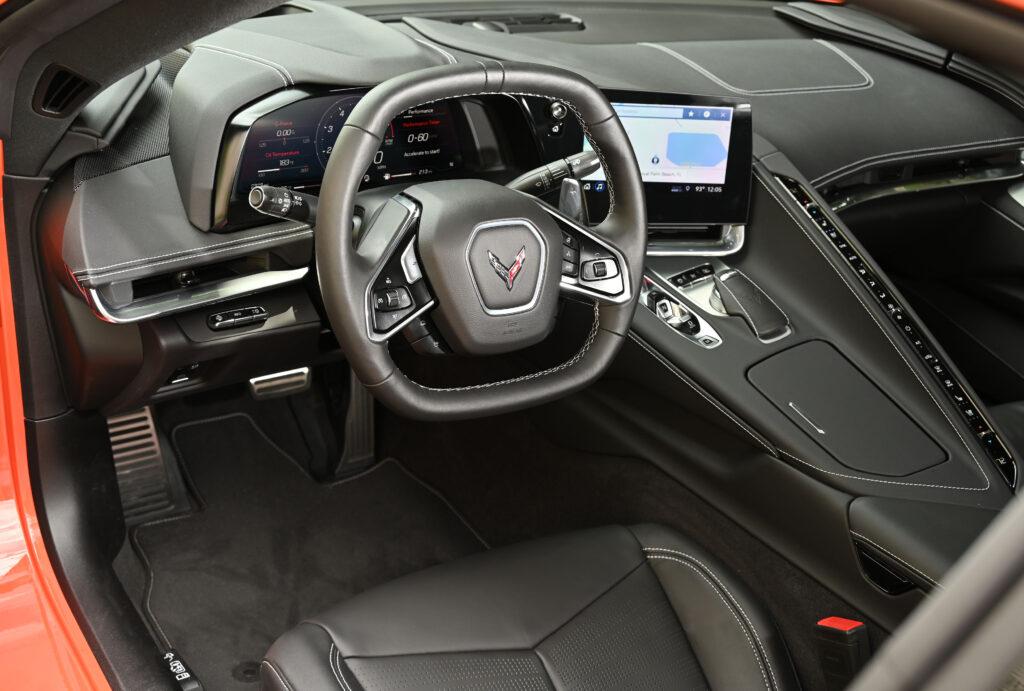 Corvette Stingray Cockpit with Spine