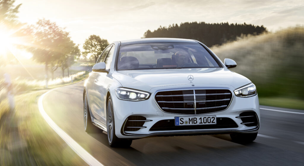 Mercedes-Benz S-Class country road