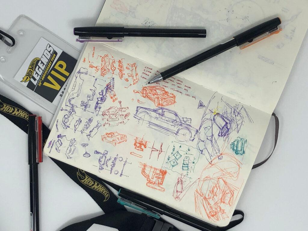 Hot wheels sketches